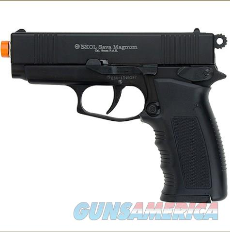 Sava Magnum Front Firing Blank Pistol Matte Black Finish  Non-Guns > Hobbies and Collectibles > Scale Models > Other/Misc