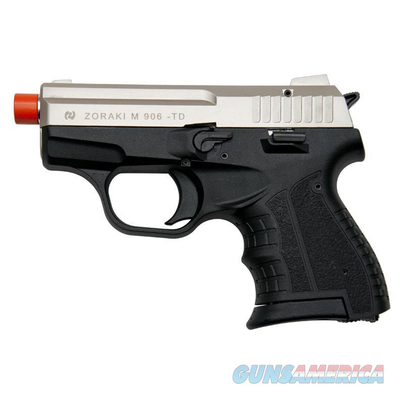 Zoraki M906 Satin Finish - 9MM Front Firing Blank Pistol Semi-Auto Gun  Non-Guns > Hobbies and Collectibles > Scale Models > Other/Misc