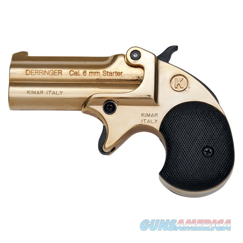 Kimar Old West Replica .22 Caliber Blank Firing Derringer Gold Finish  Non-Guns > Hobbies and Collectibles > Scale Models > Other/Misc
