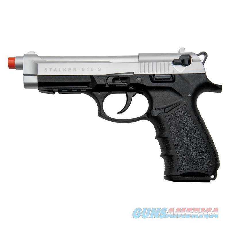 Stalker 918 Silver Finish - 9mm Blank Firing Replica Zoraki Gun  Non-Guns > Hobbies and Collectibles > Scale Models > Other/Misc