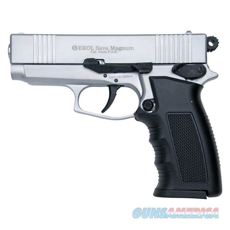 Sava Magnum Blank Firing Replica Pistol Nickle Finish  Non-Guns > Hobbies and Collectibles > Scale Models > Other/Misc