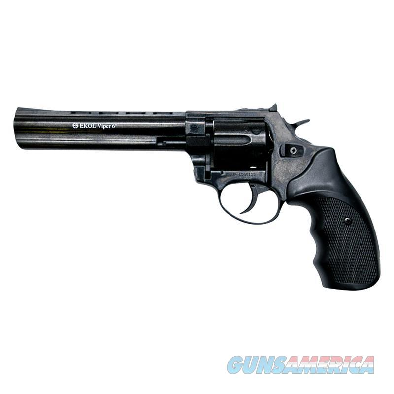 Viper 6 Inch Barrel 9MM Blank Firing Revolver Black Finish  Non-Guns > Hobbies and Collectibles > Scale Models > Other/Misc