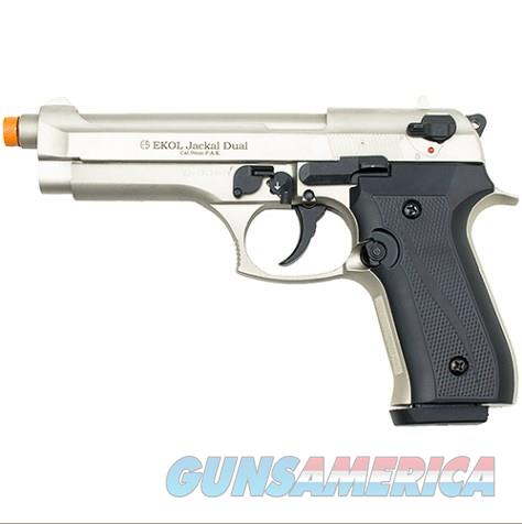 Jackal Full Automatic Front Firing Blank Gun Satin Finish  Non-Guns > Hobbies and Collectibles > Scale Models > Other/Misc