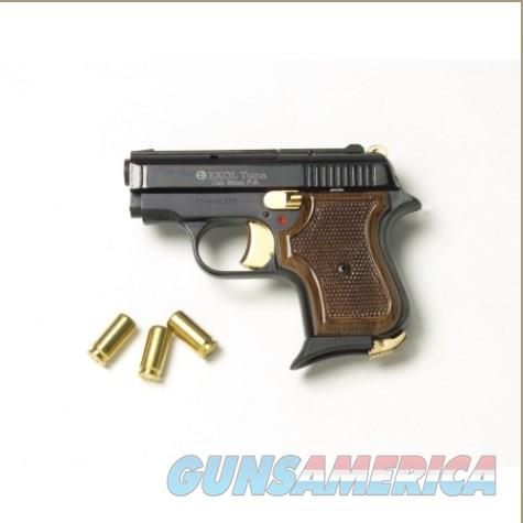 Replica Tuna 950 JF Blank Firing Pistol Black-Gold Finish  Non-Guns > Hobbies and Collectibles > Scale Models > Other/Misc