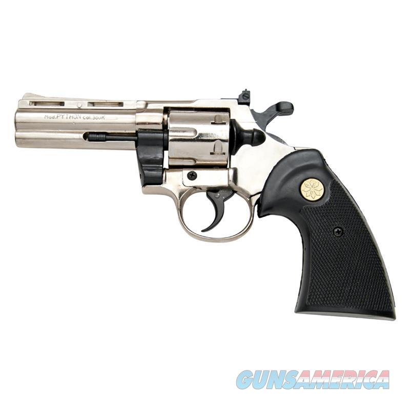Kimar PYTHON Nickel Finish 9mm Blank Firing Revolver  Non-Guns > Hobbies and Collectibles > Scale Models > Other/Misc