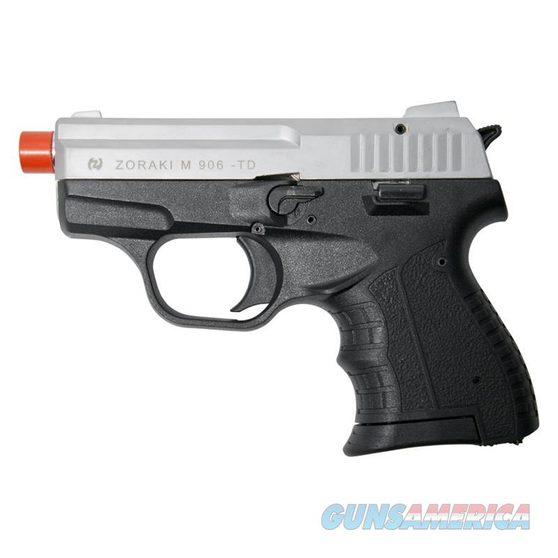 Zoraki M906 Silver Finish - 9MM Front Firing Blank Pistol Semi-Auto Gun  Non-Guns > Hobbies and Collectibles > Scale Models > Other/Misc