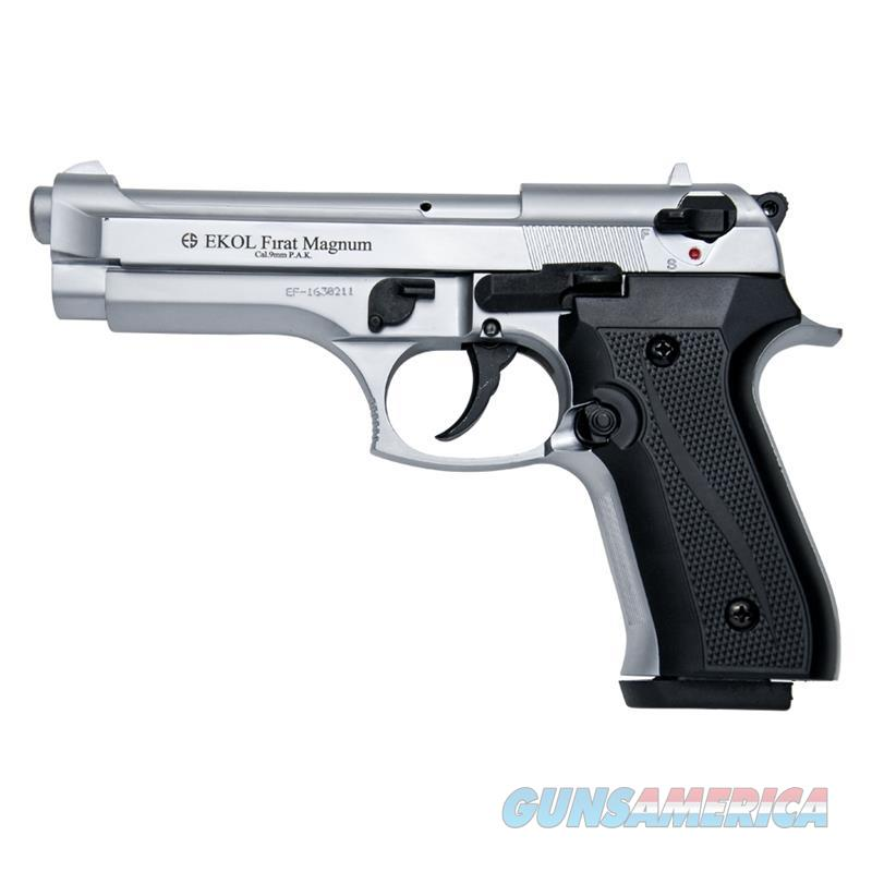 V92F Nickel Finish - Blank Firing Replica Gun  Non-Guns > Hobbies and Collectibles > Scale Models > Other/Misc