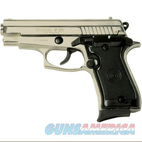 P29 Rev2 Semi Automatic Blank Firing Pistol Satin Finish  Non-Guns > Hobbies and Collectibles > Scale Models > Other/Misc