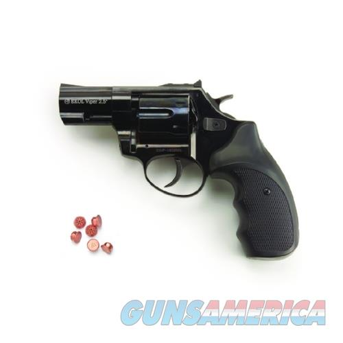 Viper 2.5 Inch Barrel 6MM Blank Firing Revolver Black Finish  Guns > Pistols > A Misc Pistols