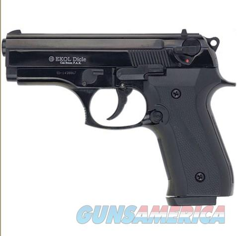 Dicle 8000 Blank Firing Gun Black Finish  Non-Guns > Hobbies and Collectibles > Scale Models > Other/Misc