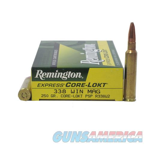 338 Win Mag 250gr PSP CoreLokt/20  Non-Guns > Miscellaneous