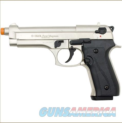 Firat Magnum 92 Front Firing Blank Gun Satin Finish  Non-Guns > Hobbies and Collectibles > Scale Models > Other/Misc