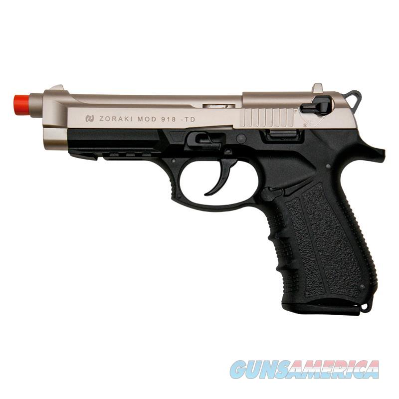 Zoraki Front Firing M918 Satin Finish 9mm Blank Gun Pistol  Non-Guns > Hobbies and Collectibles > Scale Models > Other/Misc