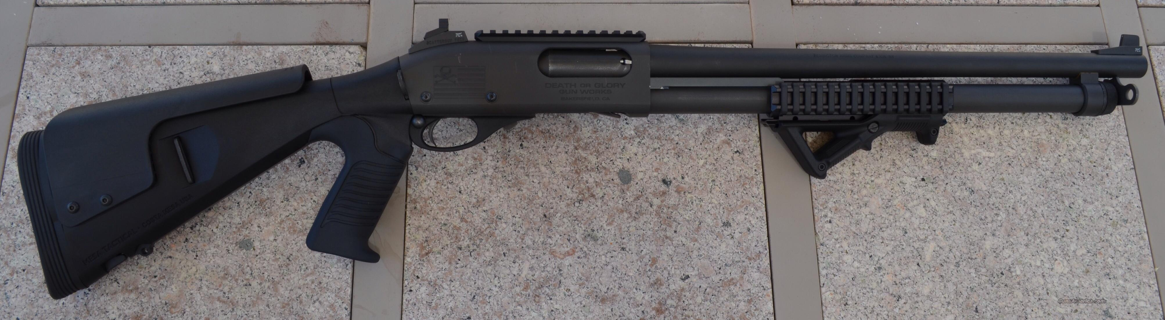 Custom Built 870 Tactical  Guns > Shotguns > Remington Shotguns  > Pump > Tactical
