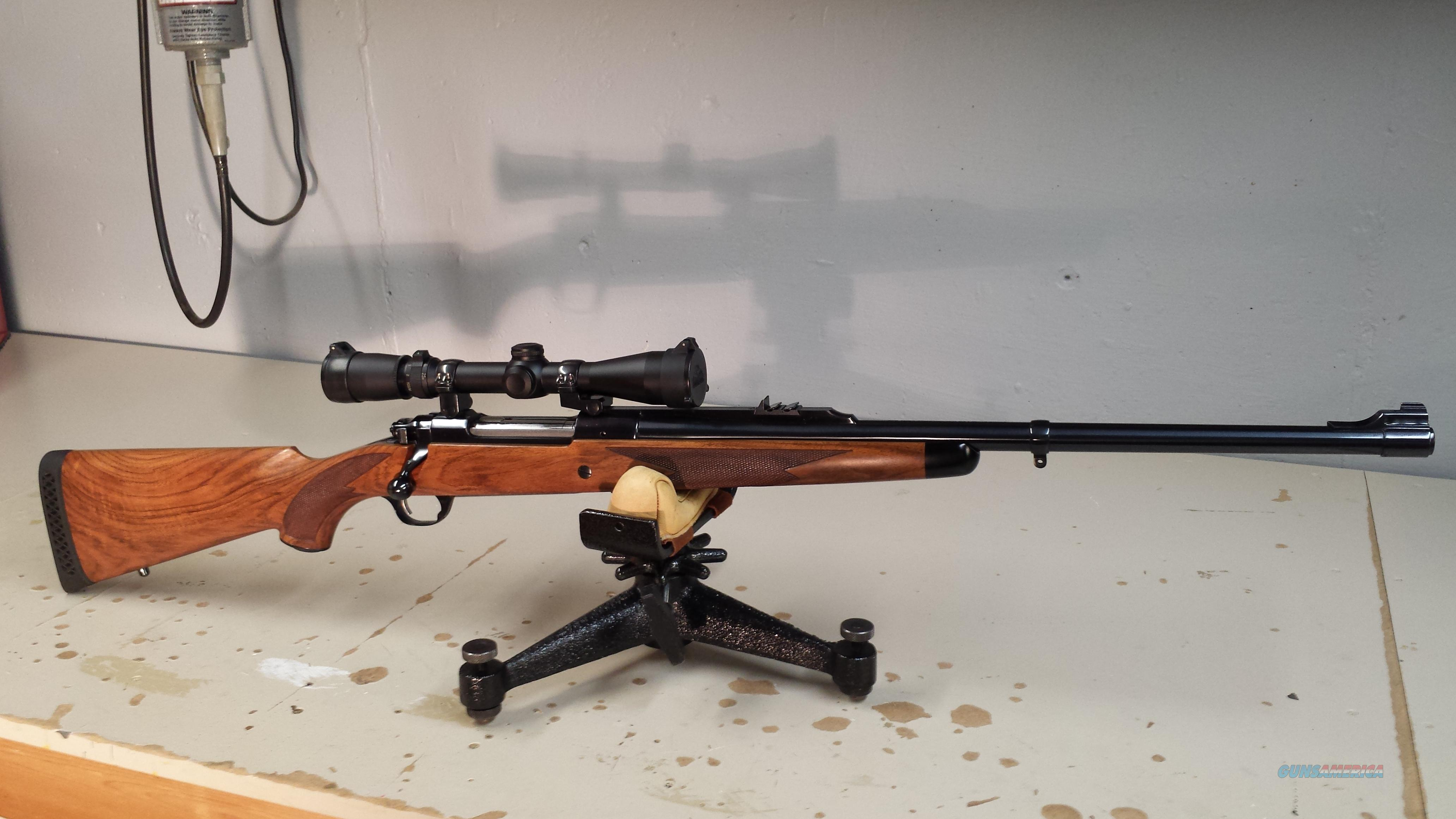 Ruger M77 Magnum. 375 H&H mag and 375 Weatherby mag.  Guns > Rifles > Ruger Rifles > Model 77