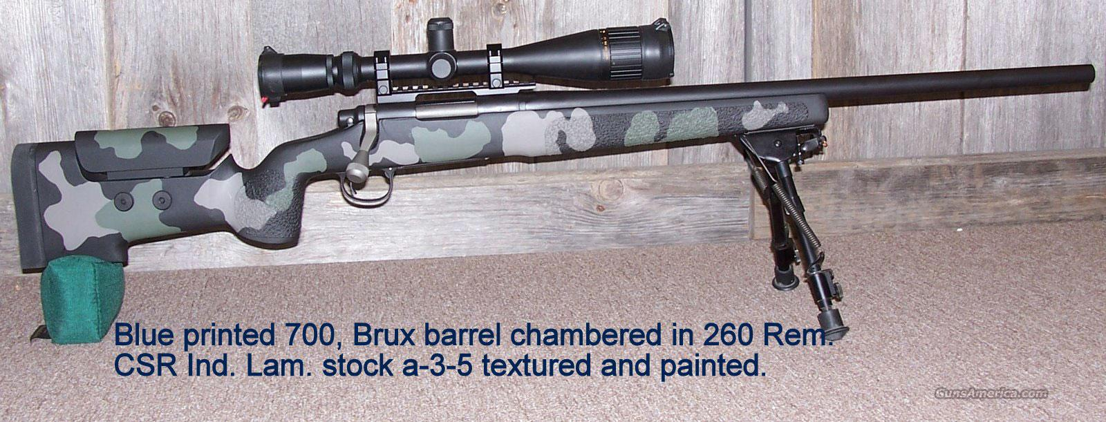 Remington 700 custom  Guns > Rifles > Remington Rifles - Modern > Model 700 > Tactical