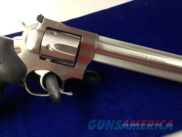 "Ruger GP100 357mag 6"" bl Stainless Like New  Guns > Pistols > Ruger Double Action Revolver > Security Six Type"