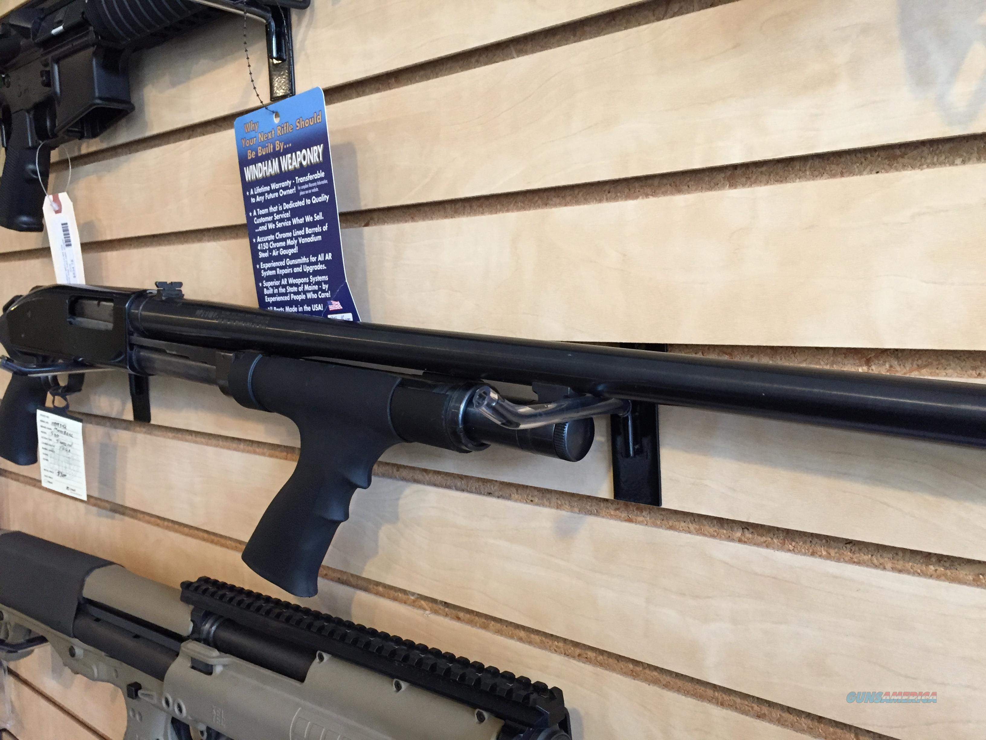 Mossberg 500 12ga with pistol grips  Guns > Shotguns > Mossberg Shotguns > Pump > Tactical