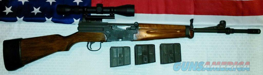 MAS French Type 56 with scope and three magazines  Guns > Rifles > Military Misc. Rifles Non-US > FrenchMAS