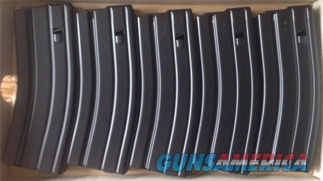 Five (5) Brand New D&H 5.56 NATO 30 Round Aluminum Black Teflon Magazines - Colt AR15 M4 M16 LE6940 LE6920 SP6920 HK416  Non-Guns > Magazines & Clips > Rifle Magazines > AR-15 Type
