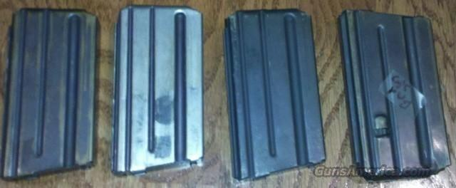 4 Pre Ban Factory Colt AR15 5.56 NATO 20 Rd Magazines  Non-Guns > Magazines & Clips > Rifle Magazines > AR-15 Type