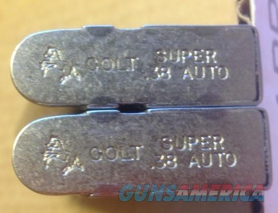 2 COLT 1911 38 Super NICKEL 9 Round Factory Magazines  - 50225N   Non-Guns > Magazines & Clips > Pistol Magazines > 1911