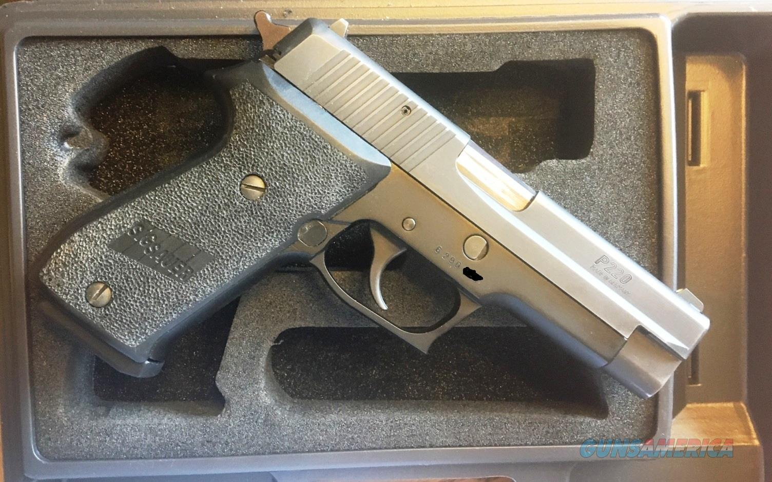 German Sig Arms P220 .45 ACP German Pistol  - SigArms  Guns > Pistols > Sig - Sauer/Sigarms Pistols > P220
