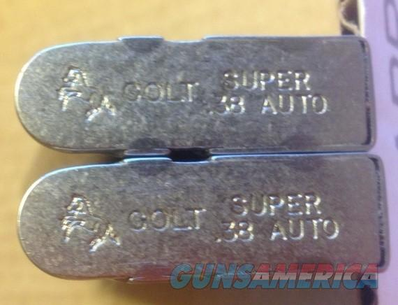 2 COLT 1911 38 Super NICKEL 9 Round Factory Magazines  Non-Guns > Magazines & Clips > Pistol Magazines > 1911