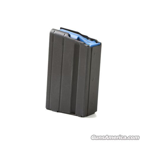 ASC AR-15 6.5 Grendel 5 Round Stainless Steel Magazine BLACK 3 Pack  Non-Guns > Magazines & Clips > Rifle Magazines > AR-15 Type