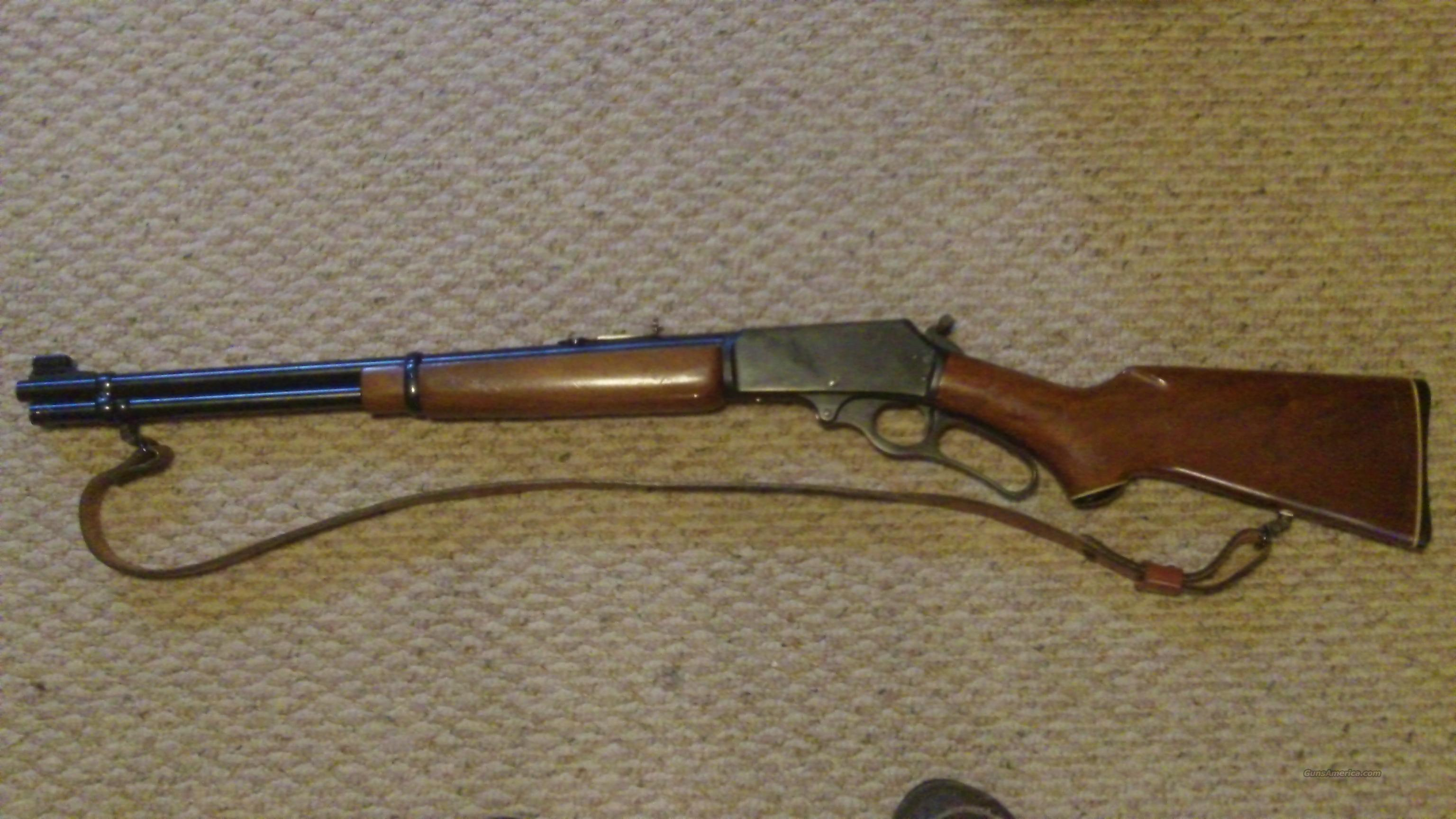 MARLIN 30/30 Lever Action  Guns > Rifles > Marlin Rifles > Modern > Lever Action