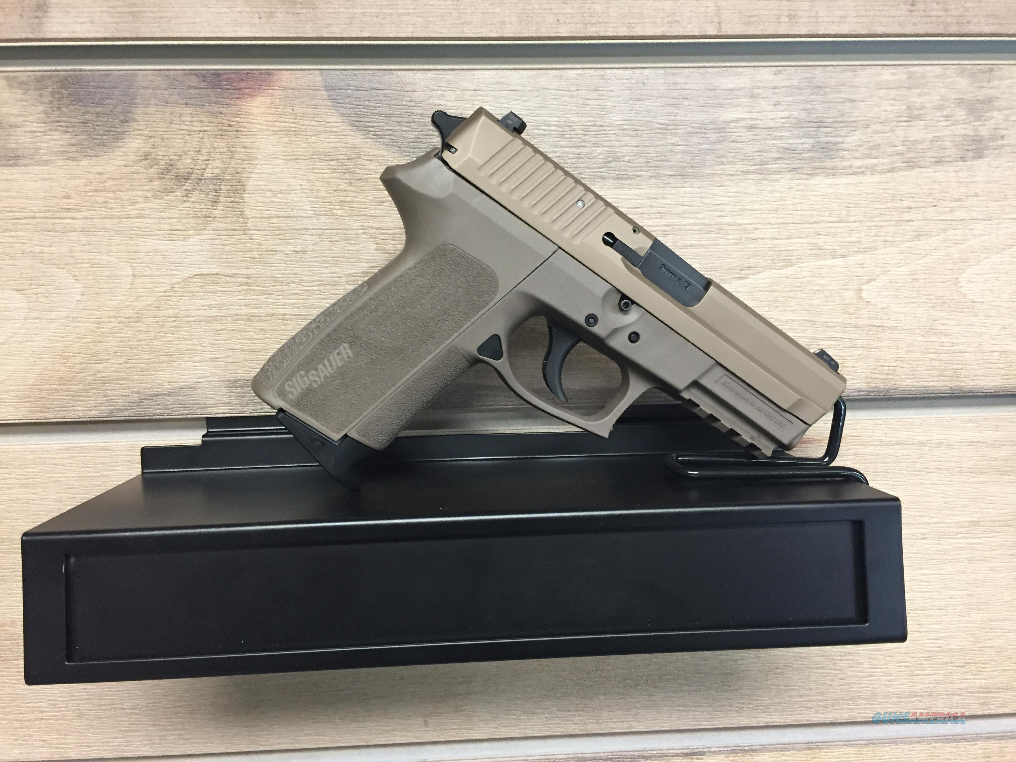 SP2022 FDE FULL-SIZE 9MM  Guns > Pistols > Sig - Sauer/Sigarms Pistols > 2022