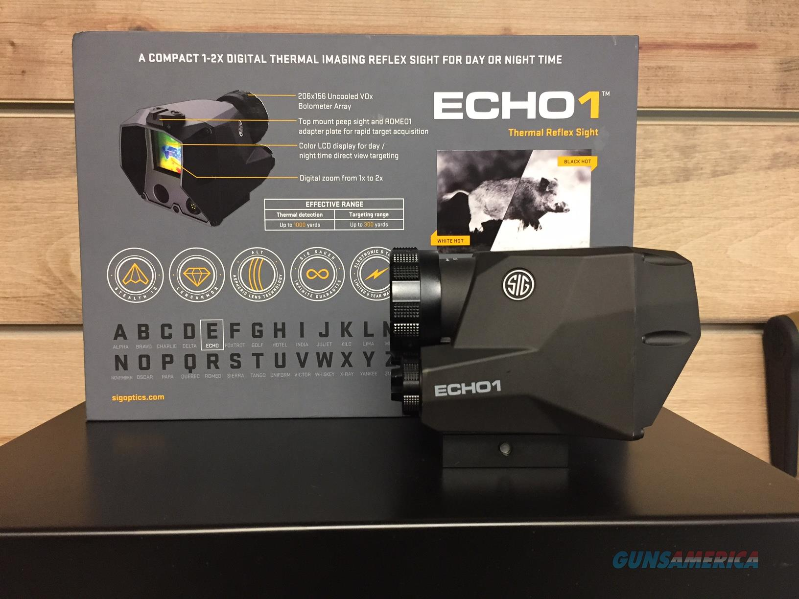 SIG SAUER ECHO 1  Non-Guns > Scopes/Mounts/Rings & Optics > Tactical Scopes > Variable Recticle