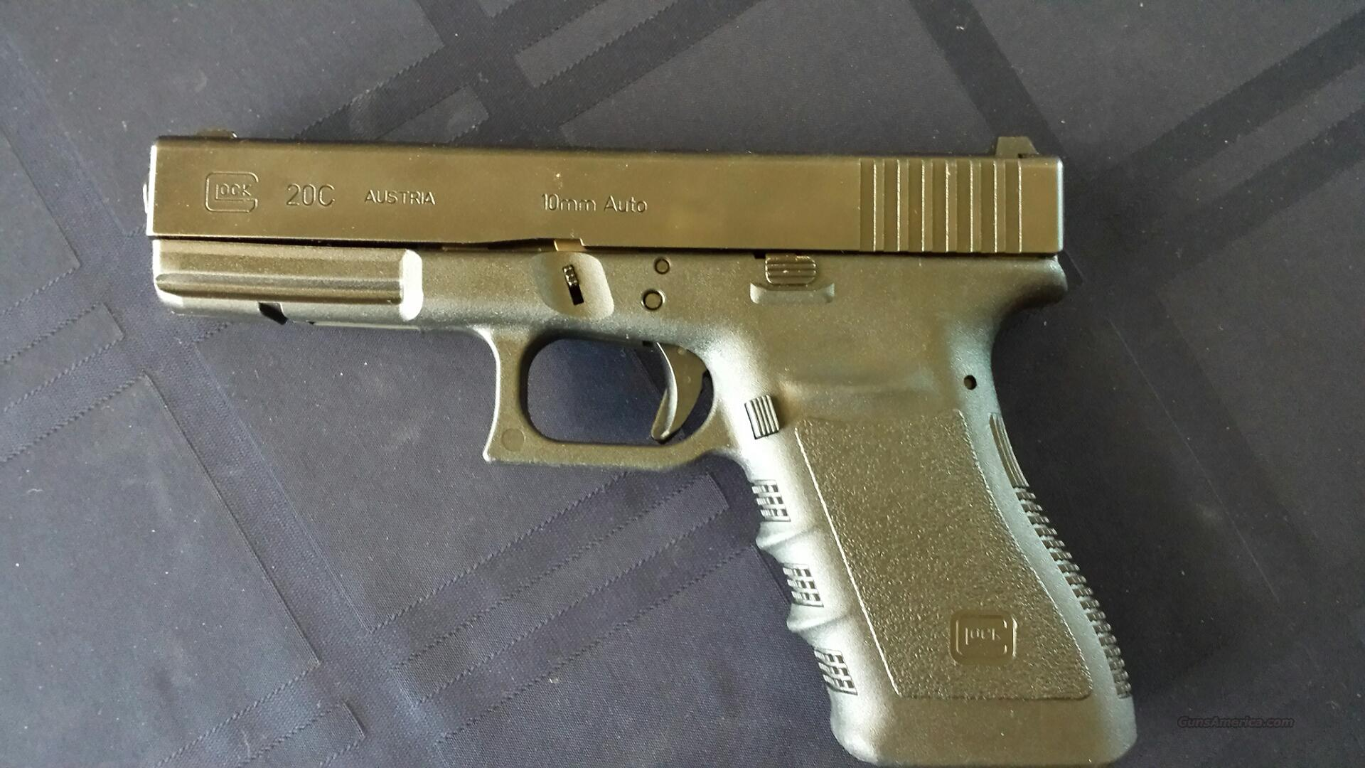 Glock 20C 10MM LIKE NEW  Guns > Pistols > Glock Pistols > 20/21