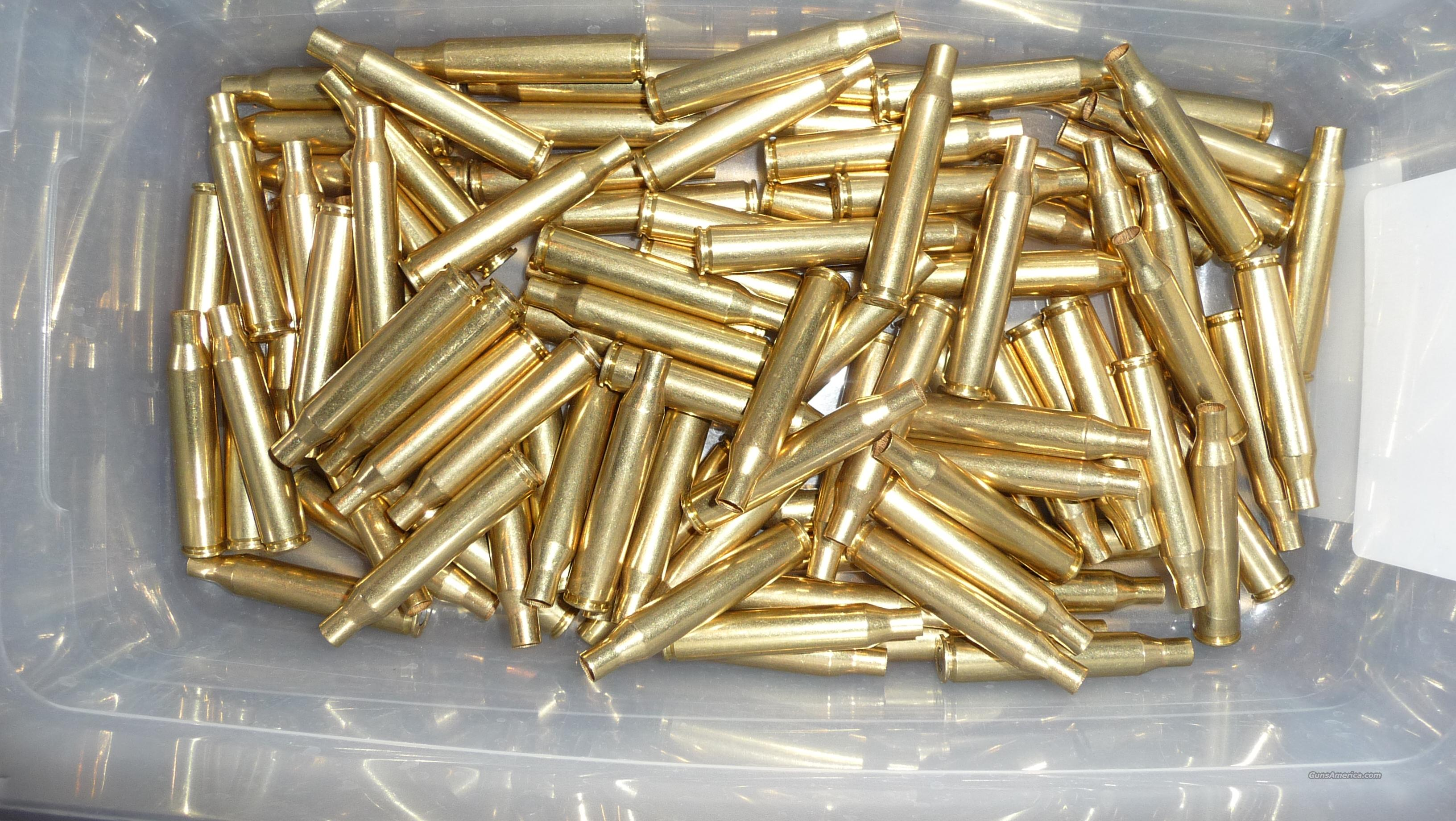 100 new primed Federal brass cases for 25-06 Remington  Non-Guns > Reloading > Components > Brass