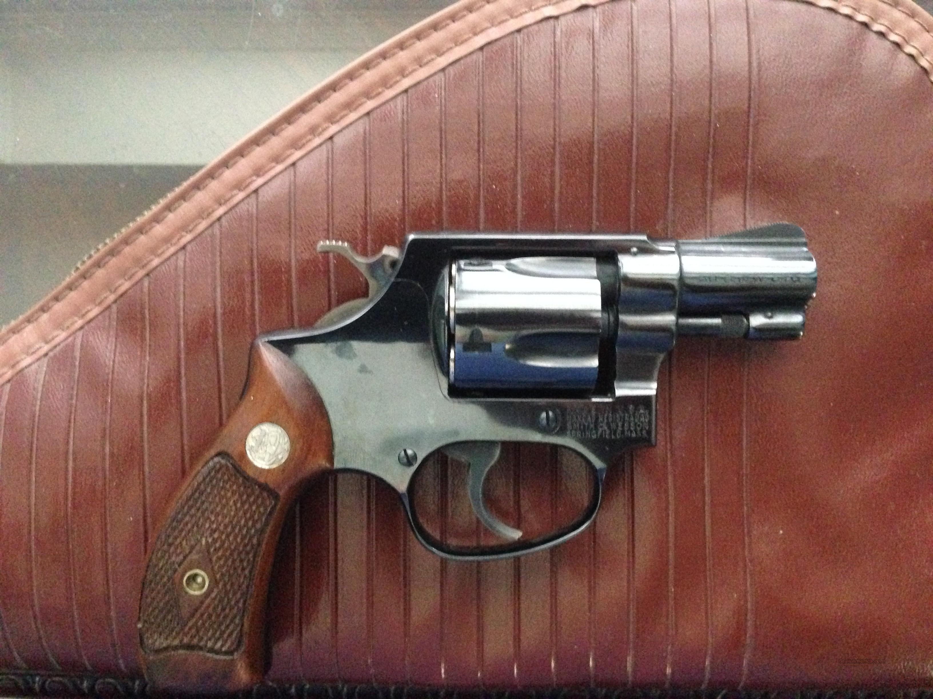 "SMITH & WESSON MODEL 36 .38 SPCL 1.75"" BARREL  Guns > Pistols > Smith & Wesson Revolvers > Full Frame Revolver"