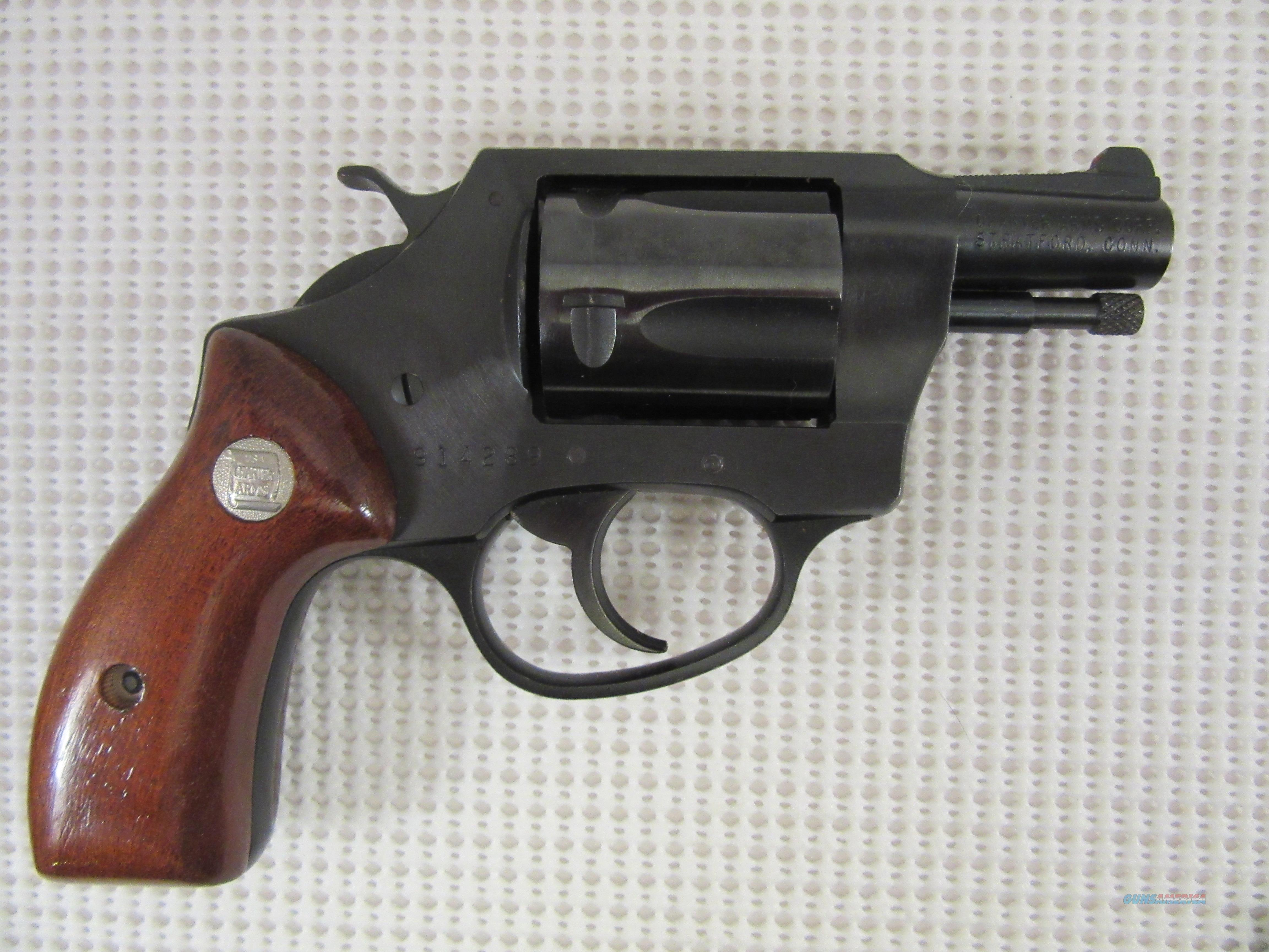 Charter Arms OFF DUTY revolver 38 spl with leather holster  Guns > Pistols > Charter Arms Revolvers
