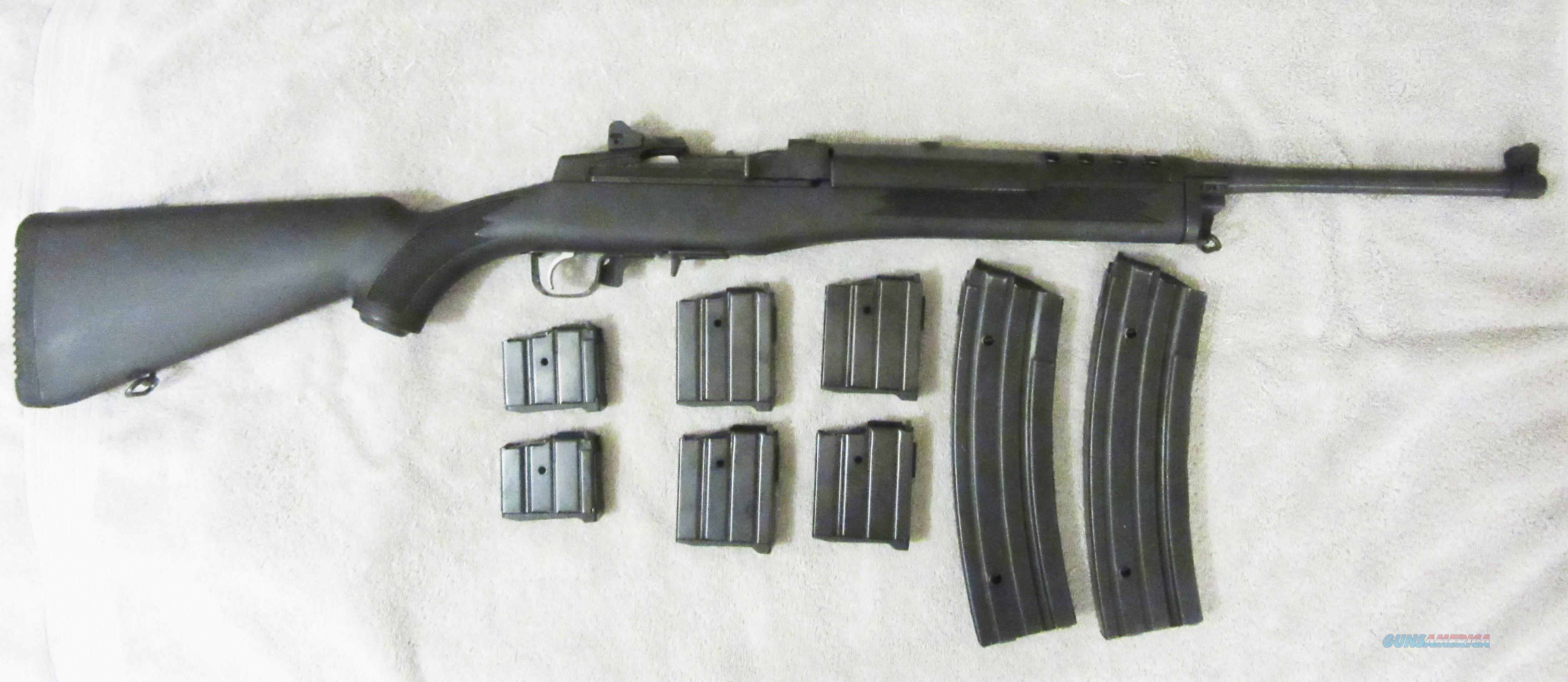 RUGER MINI 14 RANCH RIFLE SYNTHETIC STOCK  Guns > Rifles > Ruger Rifles > Mini-14 Type