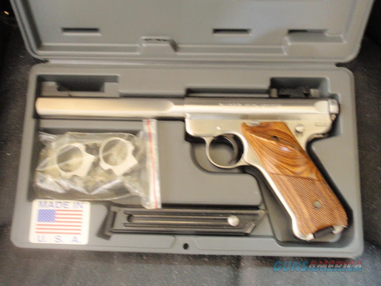 Ruger Mark 2 Stainless Steel  Guns > Pistols > Ruger Semi-Auto Pistols > 22/45