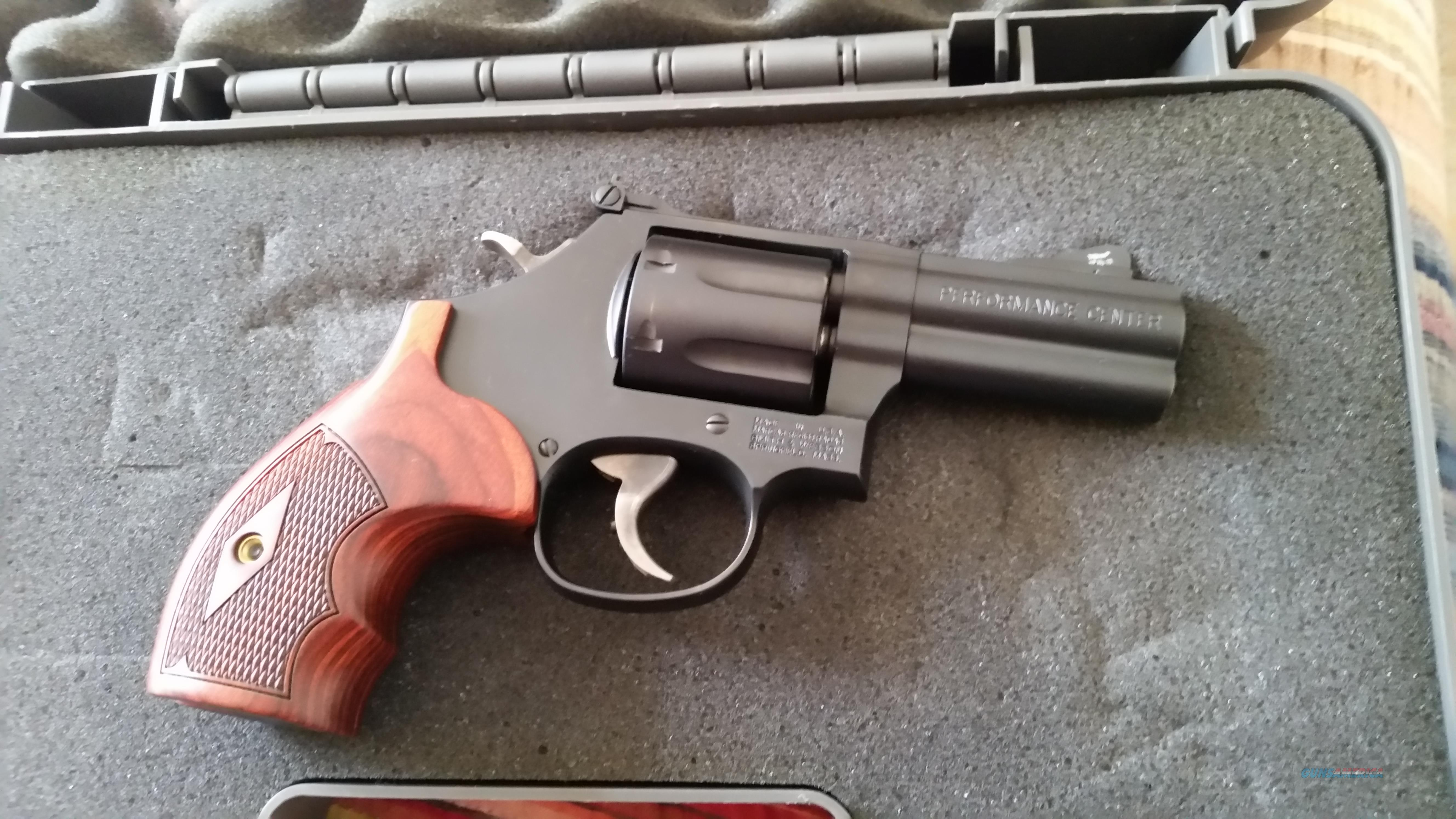 New Smith and Wesson 586 L-Comp Performance Center 357 Magnum NIB FREE SHIPPING!!!  Guns > Pistols > Smith & Wesson Revolvers > Performance Center