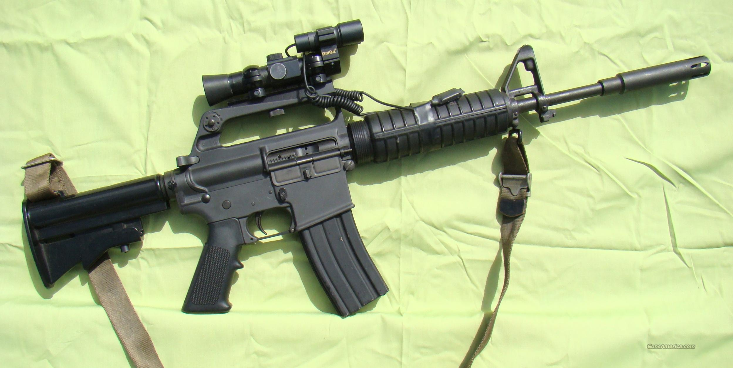 Colt SP-1 Pre Ban CAR-15  Guns > Rifles > Colt Military/Tactical Rifles