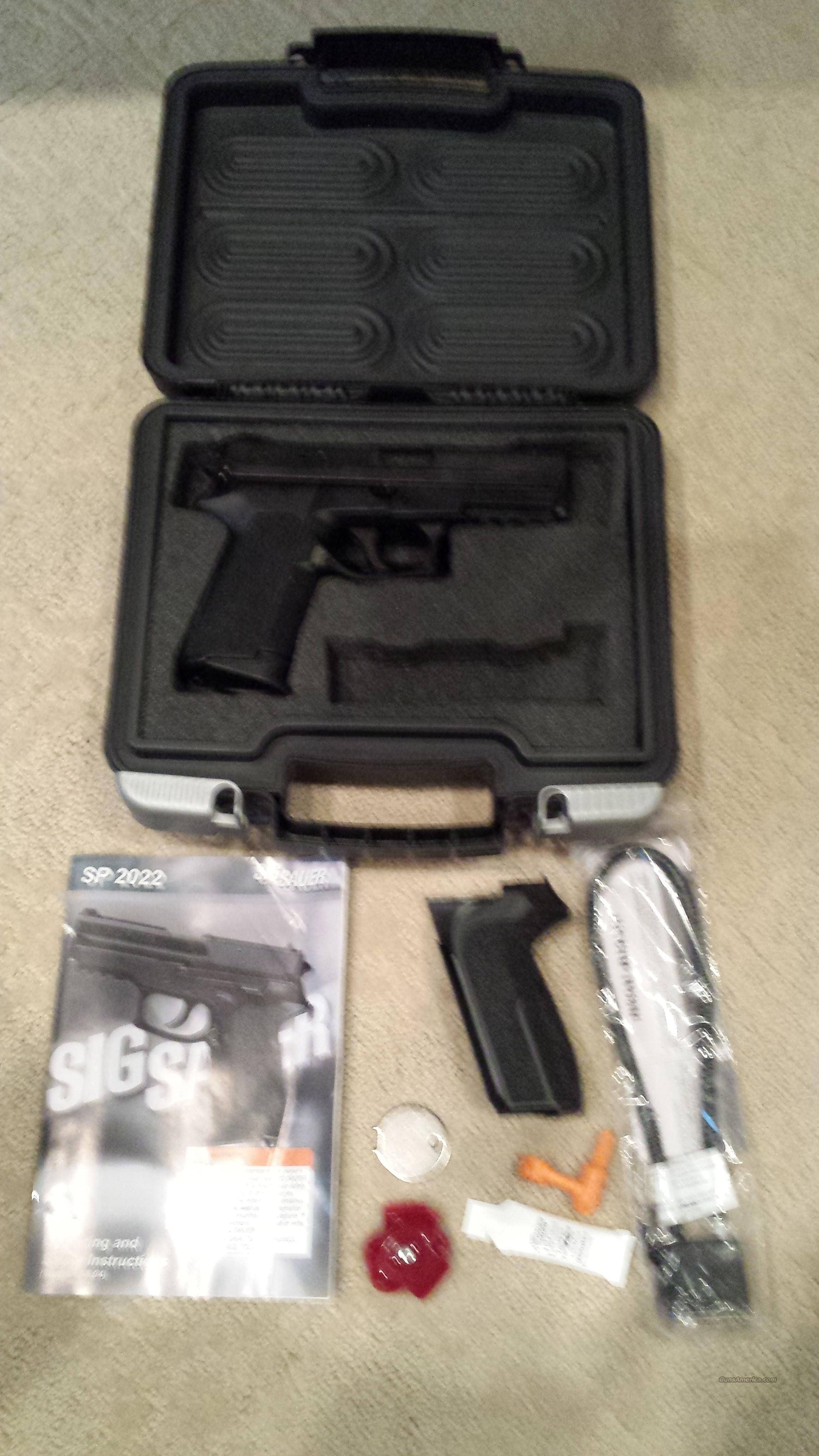 SIG Sauer SP2022 GREAT CONDITION!!  Guns > Pistols > Sig - Sauer/Sigarms Pistols > 2022
