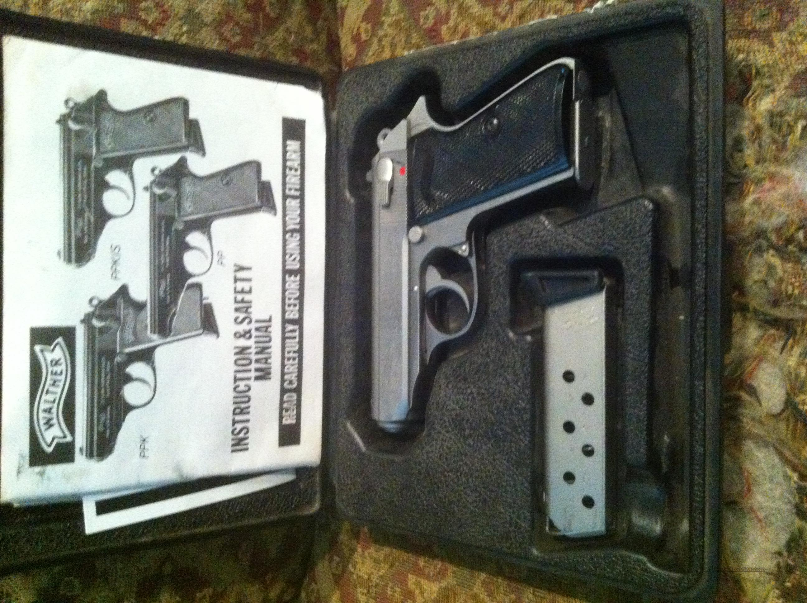 Walther PPK/S 9m/380  Guns > Pistols > Walther Pistols > Post WWII > PPK Series