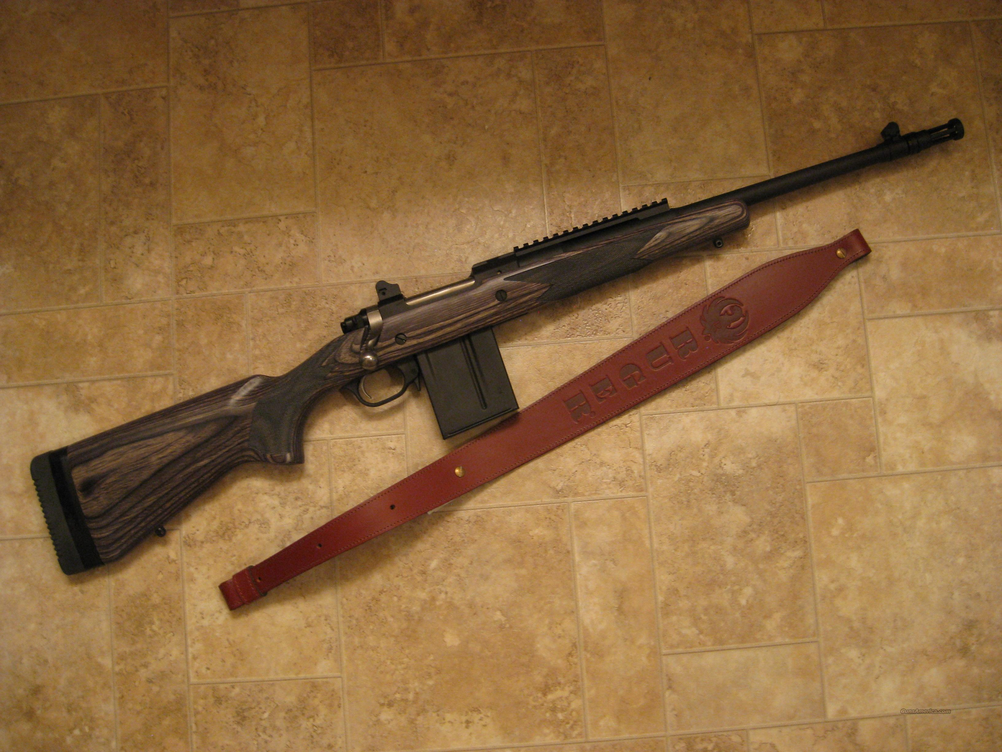Ruger Gunsite Scout in .308  Guns > Rifles > Ruger Rifles > Model 77