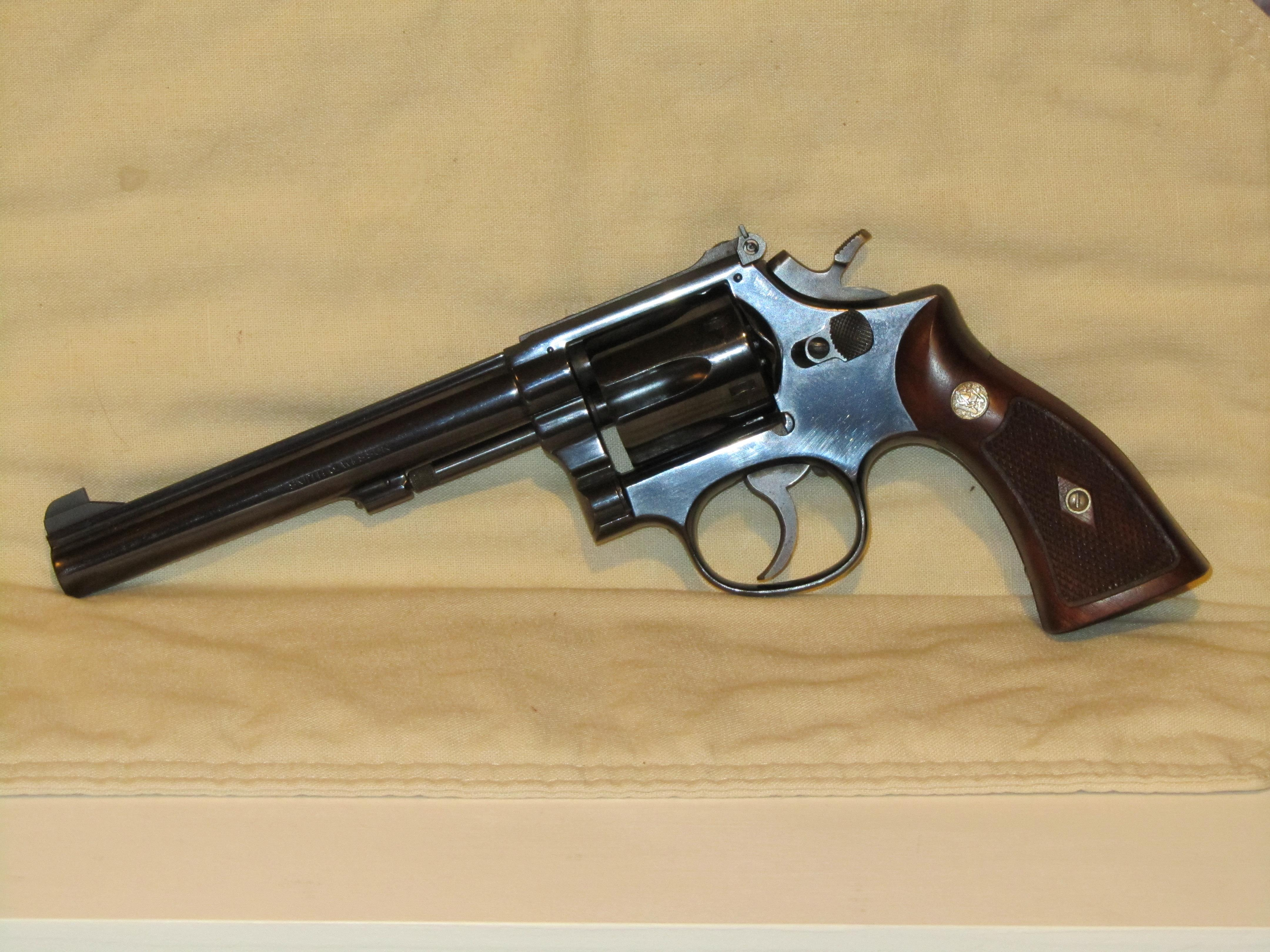 Smith Amp Wesson Model 17 K 22 Masterpiece 22lr For Sale