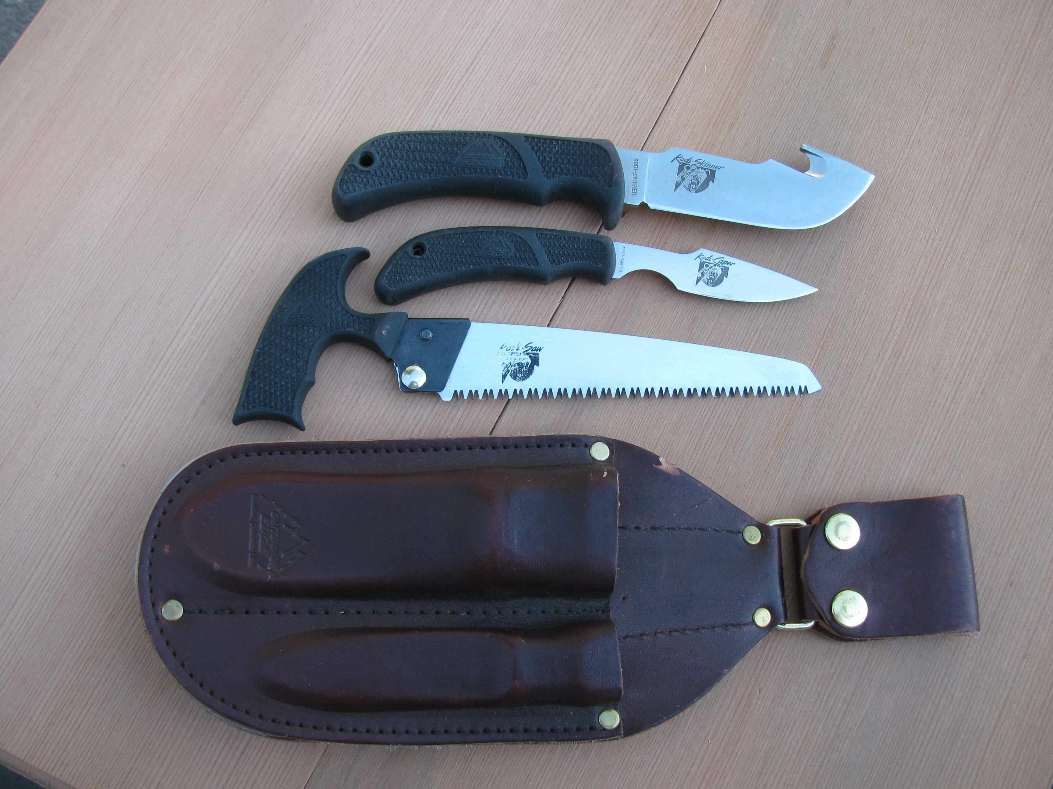 Outdoor Edge Kodi Pac  Non-Guns > Knives/Swords > Knives > Fixed Blade > Hand Made