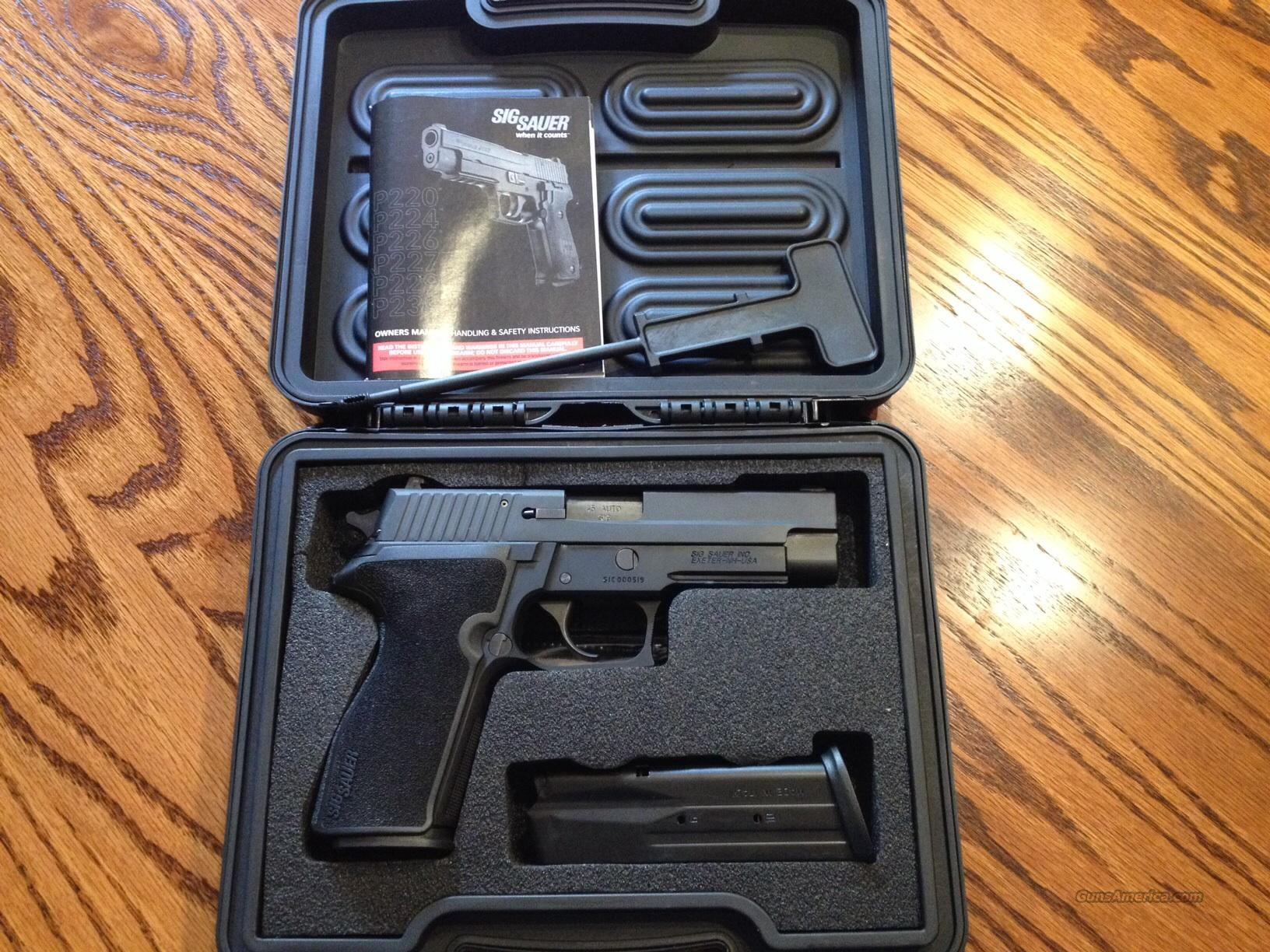 Sig Sauer P227 - 10+1 capacity of 45 ACP - Extras!  Guns > Pistols > Sig - Sauer/Sigarms Pistols > Other