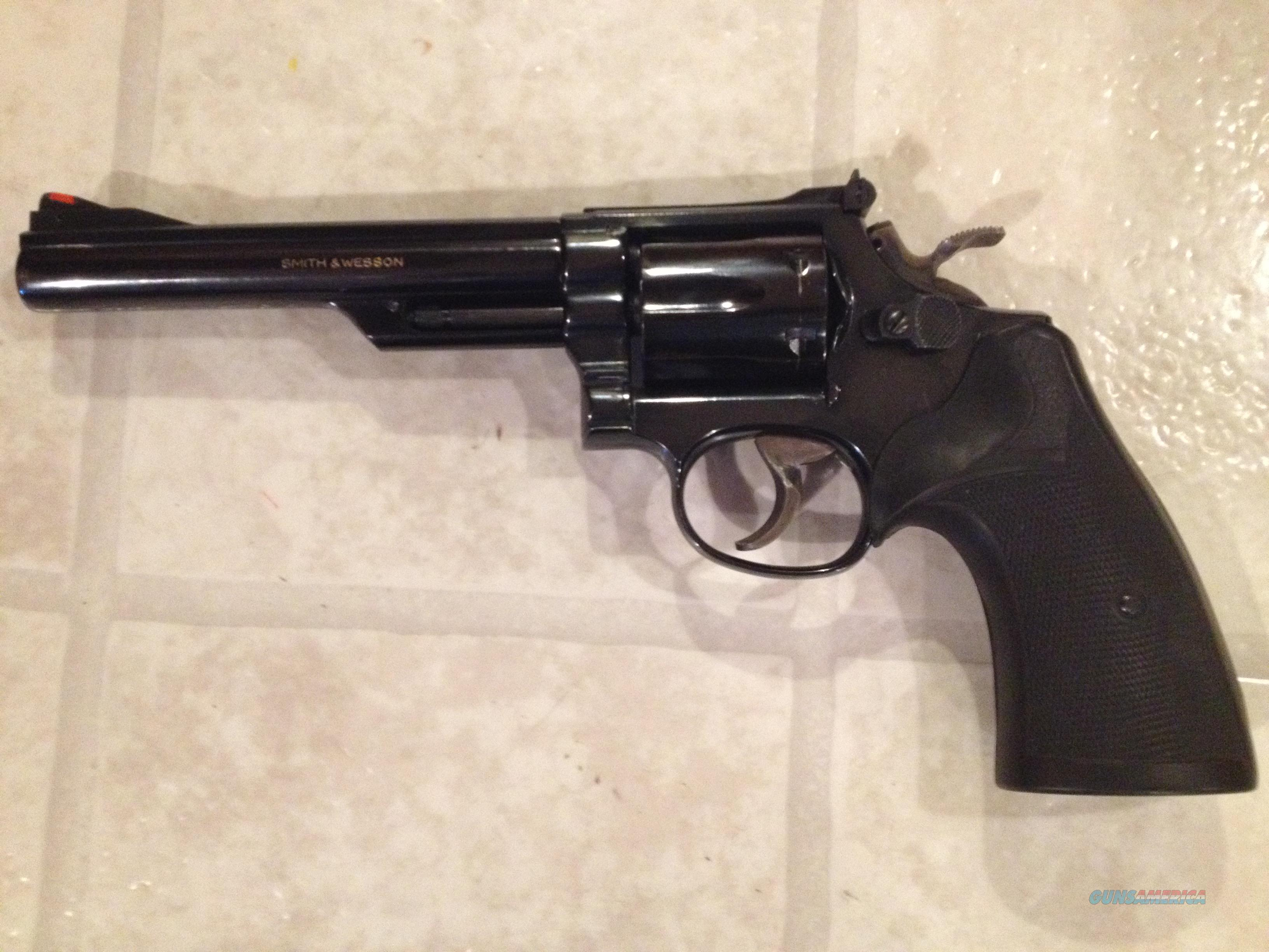 "Smith & Wesson Model 19-4 - .357Magnum - 6"" Barrel - Great Condition  Guns > Pistols > Smith & Wesson Revolvers > Full Frame Revolver"