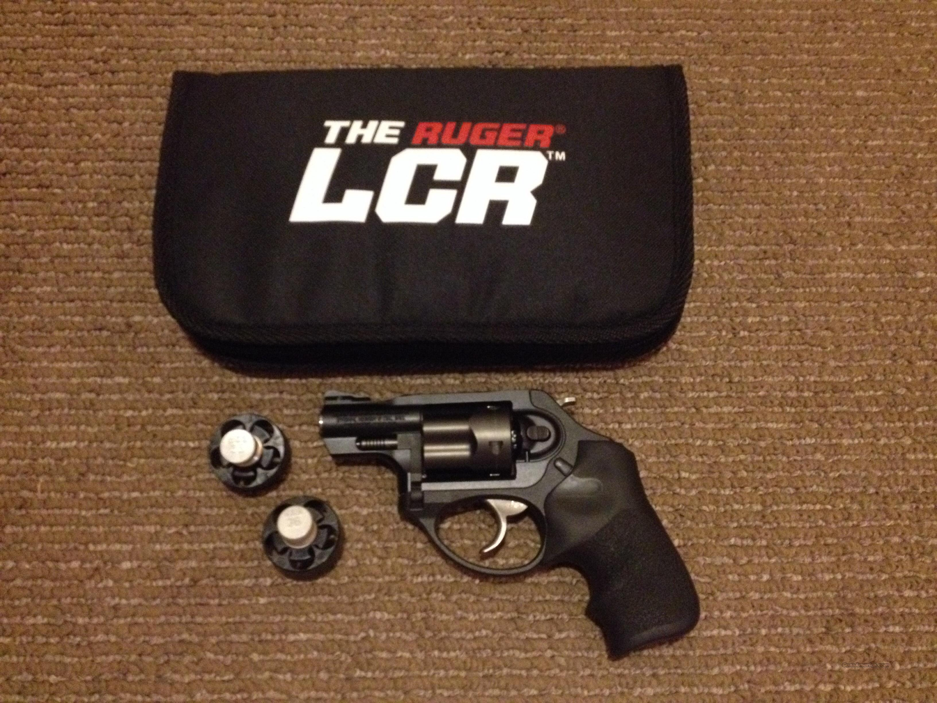 Ruger LCRx  38SPL+P  Like New   No Reserve  Guns > Pistols > Ruger Double Action Revolver > LCR