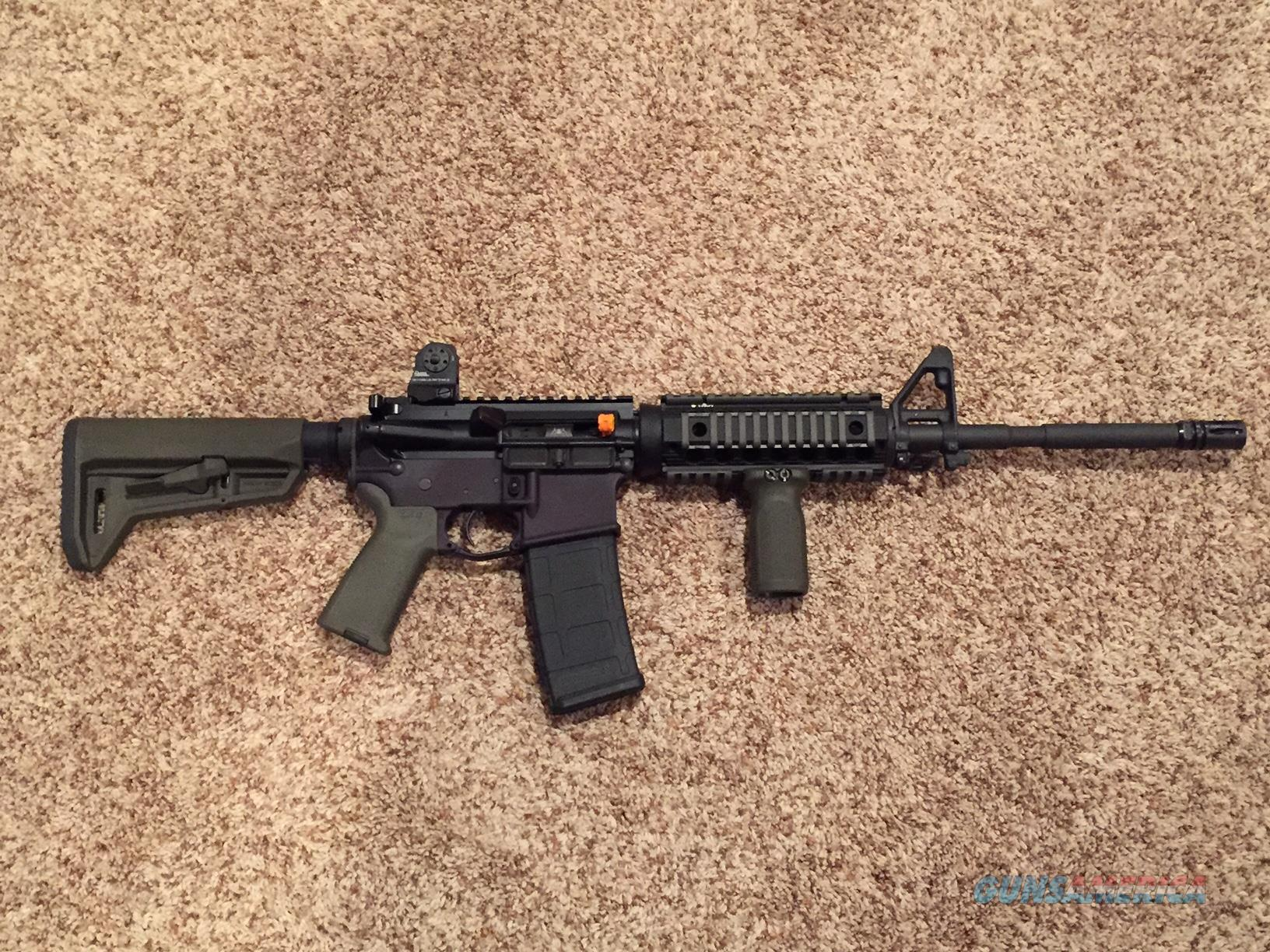 "AR 15 16"" Carbine 5.56, Spikes Tactical upper, Magpul/Troy furniture  Guns > Rifles > AR-15 Rifles - Small Manufacturers > Complete Rifle"