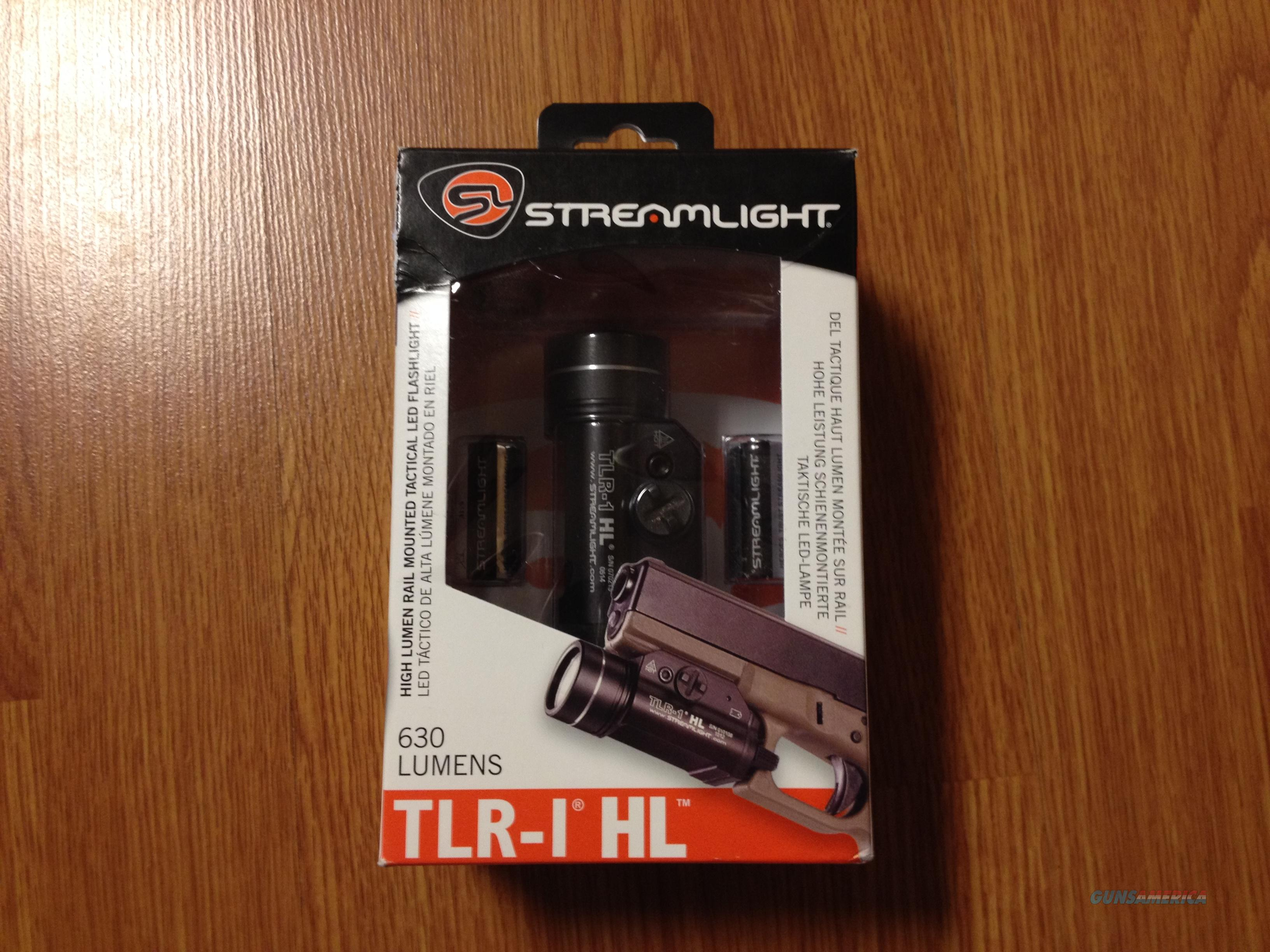 Streamlight TLR 1 HL - Like New  Non-Guns > Lights > Tactical